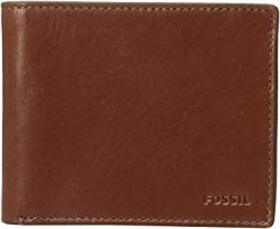 Fossil Hugh Bifold with Flip ID