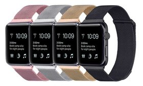 Milanese Loop Mesh Band for Apple Watch (2- or 4-P