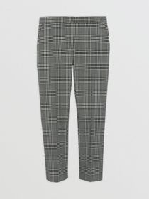 Burberry Straight Fit Prince of Wales Check Wool T