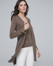 Shimmer Midi Cover-Up Sweater
