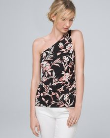 Floral One-Shoulder Top