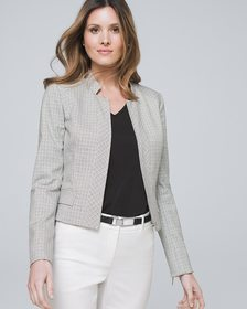 Plaid Suiting Jacket