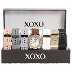 XOXO Womens Crystal Mother of Pearl Watch & Band 7