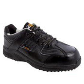 Mens Wide Width Leather Composite Toe Work Boots