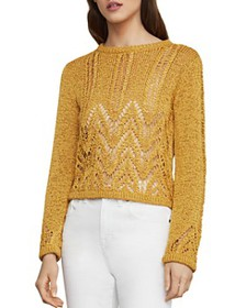 BCBGMAXAZRIA - Mixed-Stitch Sweater