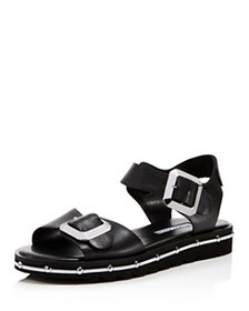 Charles David - Women's Spy Leather Ankle Strap Sa