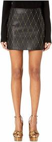 Versace Jeans Couture Embellished Short Skirt