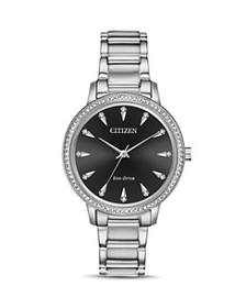 Citizen - Silhouette Eco-Drive Crystal Watch, 36mm