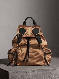 Burberry The Medium Rucksack in Two-tone Nylon and
