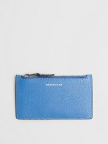 Burberry Two-tone Leather Card Case in Hydrangea B