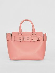 Burberry The Small Leather Belt Bag in Dusty Rose