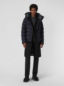 Burberry Detachable-sleeve Down-filled Hooded Puff