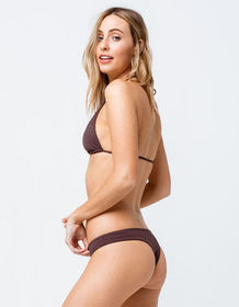 VOLCOM Simply Seamless Mini Cheeky Dark Chocolate
