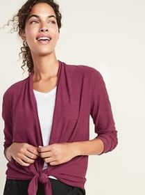 Breathe ON Open-Front Top for Women