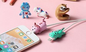 Tech Elements Animal-Shaped Cable Bite Protector