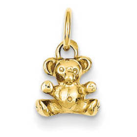 Unisex Gold Classics™ 14kt. Polished Teddy Bear Ch