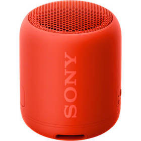 Sony SRS-XB12 Portable Bluetooth Speaker (Red)