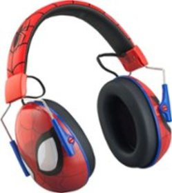 KIDdesigns - Spiderman Wired Over-the-Ear Headphon