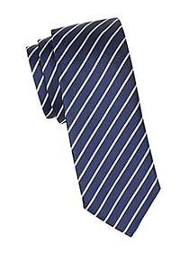 HUGO Silk Printed Tie DARK BLUE