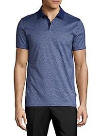 BOSS Classic Cotton Polo BLUE