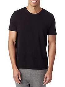 ALTERNATIVE The Outsider Crewneck Tee BLACK