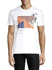 BOSS Tessler Graphic T-Shirt WHITE