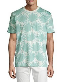 BOSS Tropical-Print Tee WHITE PALMS