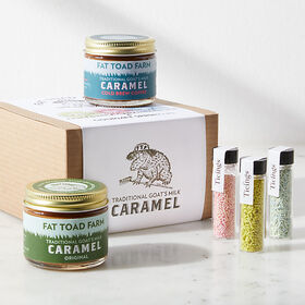 Crate Barrel Caramel and Sprinkle Kit