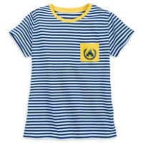 Disney Fantasyland Castle Striped T-Shirt for Wome