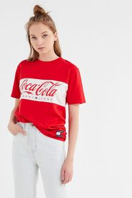 Tommy Jeans X Coca-Cola UO Exclusive Logo Tee