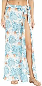 Roxy Free As Waves Long Skirt Cover-Up