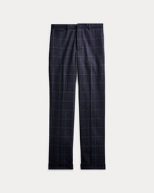 Ralph Lauren Slim Windowpane Suit Trouser