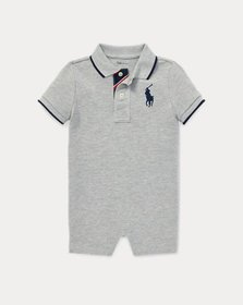 Ralph Lauren Cotton Mesh Polo Shortall