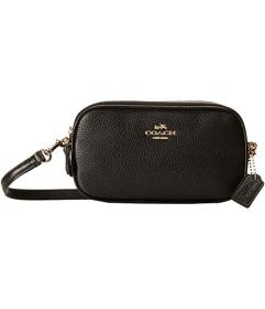 COACH Polished Pebble Crossbody Pouch