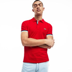 Lacoste Men's Slim Fit Petit Piqué Polo Shirt