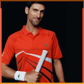 Lacoste Men's SPORT Novak Djokovic Collection Stre