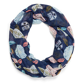 Star Wars Yoda and Friends Floral Lightweight Infi