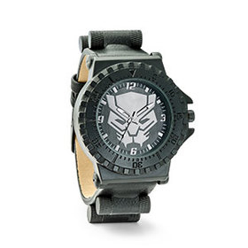 Black Panther Logo Watch