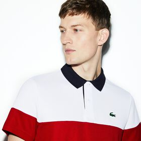 Lacoste Men's SPORT Breathable Piqué Tennis Polo