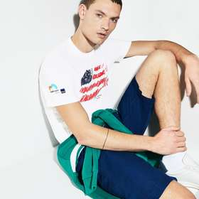 Lacoste Men's SPORT Miami Open Edition T-shirt