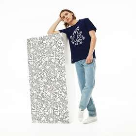 Lacoste Men's Keith Haring Design Cotton T-shirt