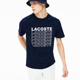 Lacoste Men's Crew Neck Cotton T-shirt