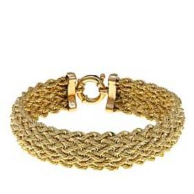 Passport to Gold Diamond-Accented 14K Rope Weave 7