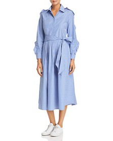 Weekend Max Mara - Canon Striped Cotton Shirt Dres