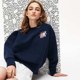 Lacoste Women's Keith Haring Design Cotton Blend S