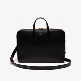 Lacoste Women's Chantaco Leather Computer Bag