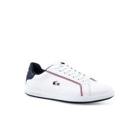 Lacoste Women's Graduate Leather and Synthetic Sne