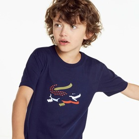 Lacoste Boys' Crew Neck Jersey T-shirt