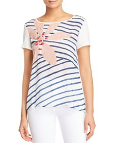 Weekend Max Mara - Omar Floral & Striped Tee