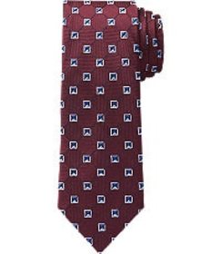 Jos Bank Reserve Collection Squares Tie CLEARANCE